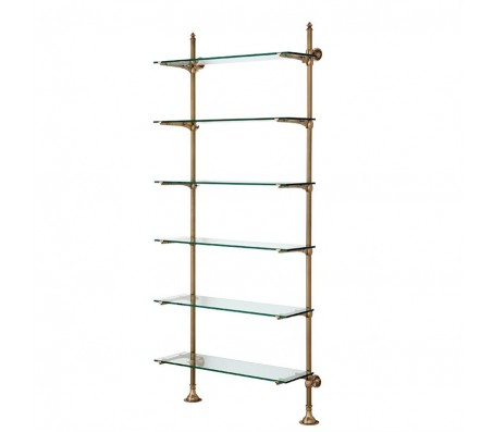 Cabinet Wall Pulitzer Single brass / glass