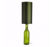Лампа настольная, зеленая