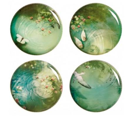 Тарелки Ibride EXTRA PLATES YUAN NARCISSE , сет из 4