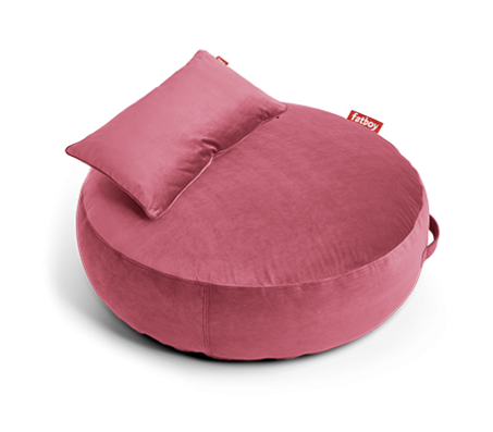 "Пуф Fatboy ""Pillow VELVET"", розовый"