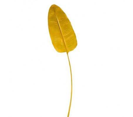 Декоративный лист банана, желтый