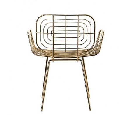 Кресло Chair Boston gold