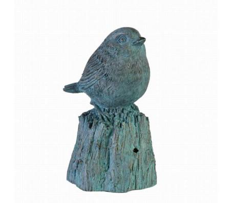 Декоративная птица голубая L