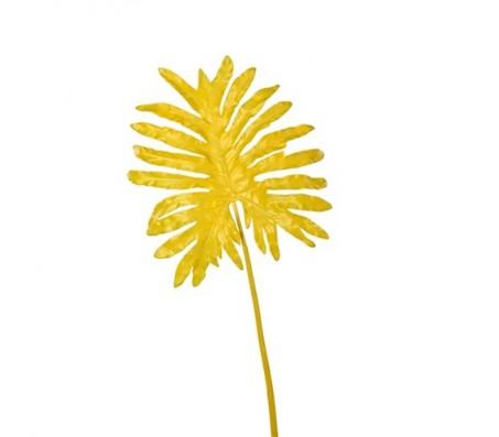 Декоративный лист, желтый