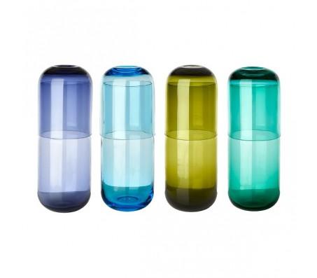 Кувшин с стаканами, сет из четырех