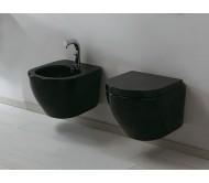 Унитаз подвесной Flaminia IO Vaso (Италия), черный