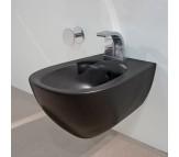 Биде подвесное Flaminia IO Bidet (Италия), черного цвета