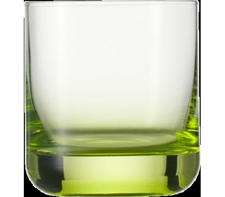 """Стакан для виски Schott Zwiesel """"Spots Neon"""", 285мл, зелёный"""