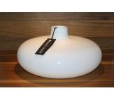 Стеклянная ваза Herve Gambs Anna белая 30см (Франция)
