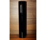 Стеклянная ваза Herve Gambs Harmony Tube чёрная 40см (Франция)