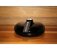 Стеклянная ваза Herve Gambs Anna черная 18см (Франция)
