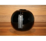 Стеклянная ваза сфера Herve Gambs Sphere черная 13см (Франция)