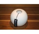Стеклянная ваза сфера Herve Gambs Sphere белая 13см (Франция)