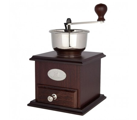 Ручная мельница для кофе деревянная Peugeot Bresil 21см