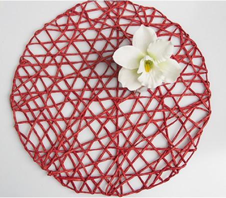 сет на декор червоний handmade