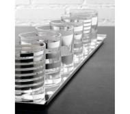 """Набор стаканов для виски Egizia """"Trattopunto"""", silver"""