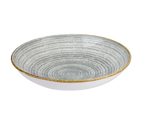 CHURCHILL Studio Prints Stone Grey Coupe Bowl