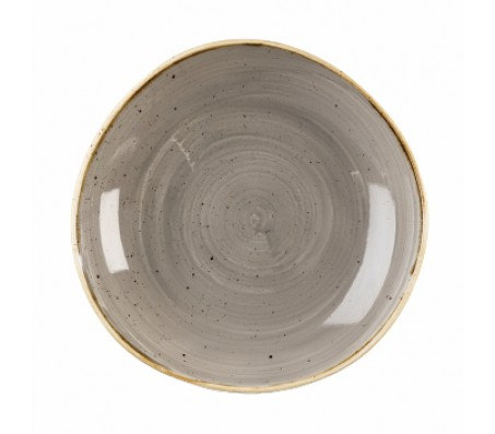 "Тарелка глубокая Churchill ""Stonecast Peppercorn Grey"", d.25,3cm"