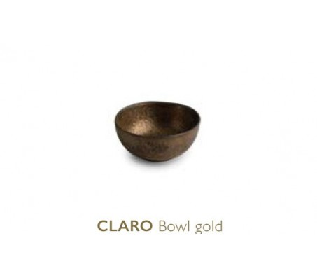 Тарелка глубокая Chic Claro, gold