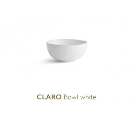 Тарелка глубокая Chic Claro, white