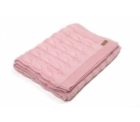 Плед из шерсти альпака Plaid Triinu (Перу) - 100% baby alpaka (70x140) pink