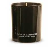 Декоративная аромосвеча Bois de cashmere Herve Gambs (Франция) чёрное стекло