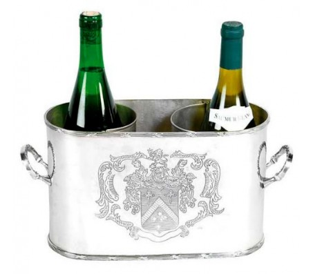 Винный кулер Eichholtz Wine Cooler Double никель