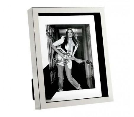 """Фоторамка Eichholtz """"Picture Frame Mulholland Large"""", (никель, стекло)"""