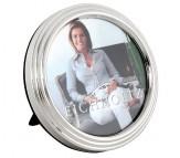 Фоторамка Eichholtz Picture Frame Chatwin круглая никель стекло