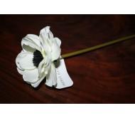Искусственные цветы анемон белый 23см Herve Gambs (Франция)
