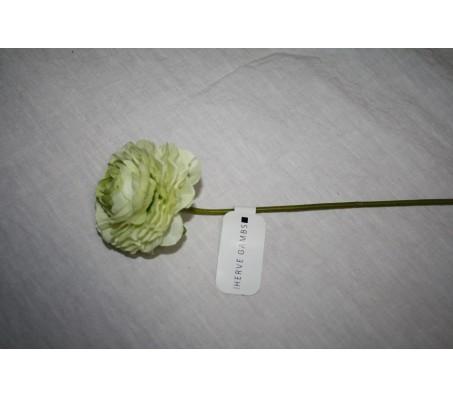 Искусственные цветы лютик белый 40см Herve Gambs (Франция)