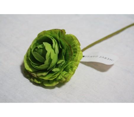 Искусственные цветы лютик зелёный 40см Herve Gambs (Франция)