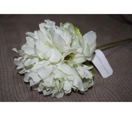 Искусственные цветы пион белый Herve Gambs (Франция) 46см