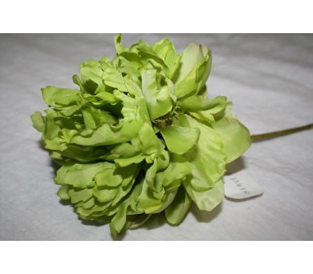 Искусственные цветы пион зелёный Herve Gambs (Франция) 46см
