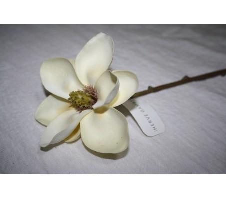 Искусственные цветы магнолия белая Herve Gambs (Франция) 49см