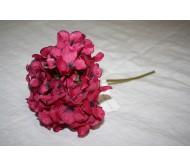 Искусственные цветы гортензия фуксия 28см Herve Gambs (Франция)