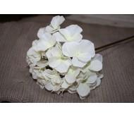Искусственные цветы гортензия белая 90см Herve Gambs (Франция)