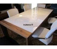 Обеденный стол Hulsta Now со стеклянной столешней