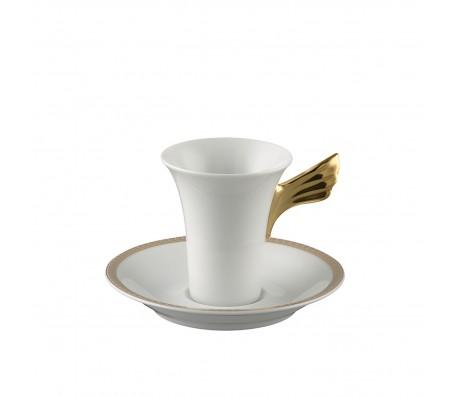 """Набор чашка с блюдцем Rosenthal """"Ikarus Medaillon Meandre d`Or"""""""