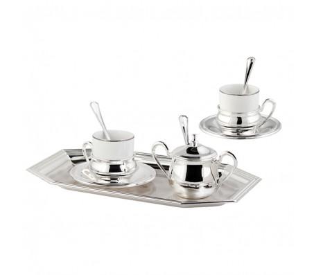 Кофейный набор Chinelli Extra Lusso на 2 персоны