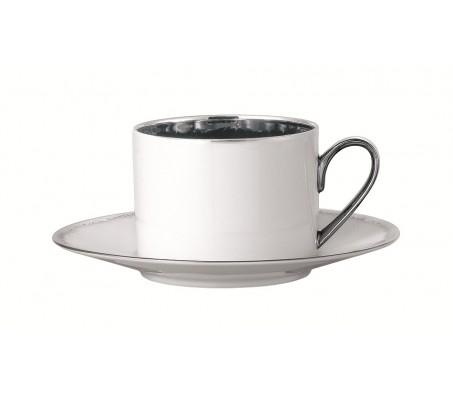 """Набор чашка с блюдцем Rosenthal """"Silver Dust"""""""