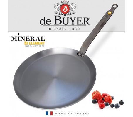 Сковорода для блинов de Buyer (Франция) MINERAL B 26см